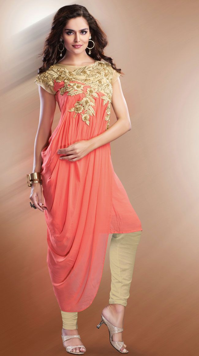 Indo western dress indian fashion mantra for Trendy dresses to wear to a wedding
