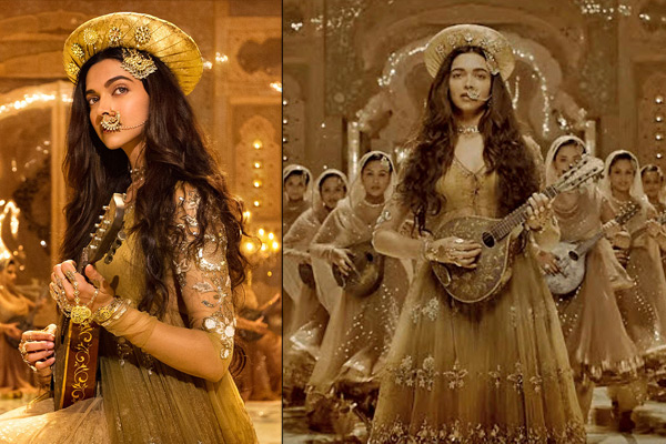 Top 4 Dresses Of Deepika Padukodne In Bajirao Mastani Indian Fashion Mantra
