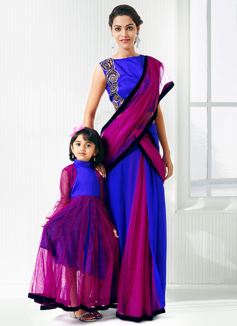 Mother Daughter Sarees Collection At Indiabazaaronline