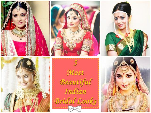 Most Beautiful Indian Bridal Look
