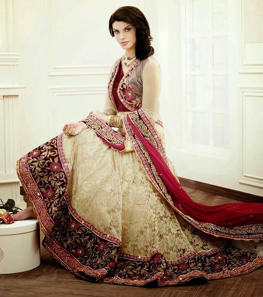 Latest Fashion Design Indian Bridal Wedding Lehenga Choli