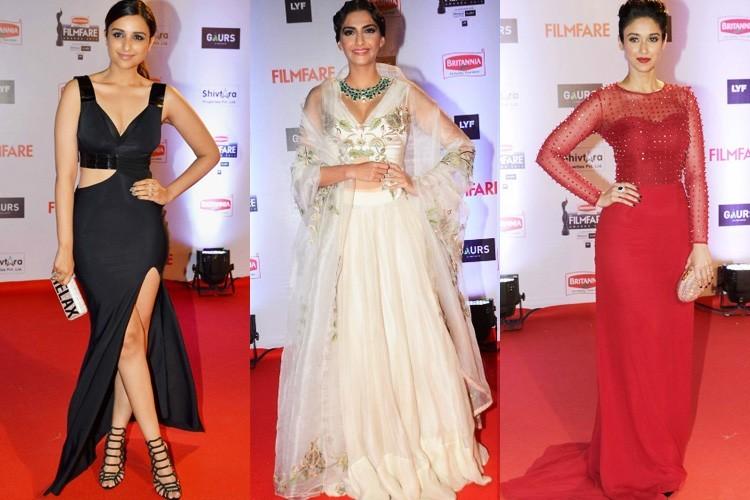 Bollywood Actresses at 61st Filmfare Awards 2016 | Indian Fashion Mantra
