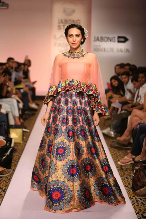 Latest designer birdal lehenga designs 2016 indian for Cape designs