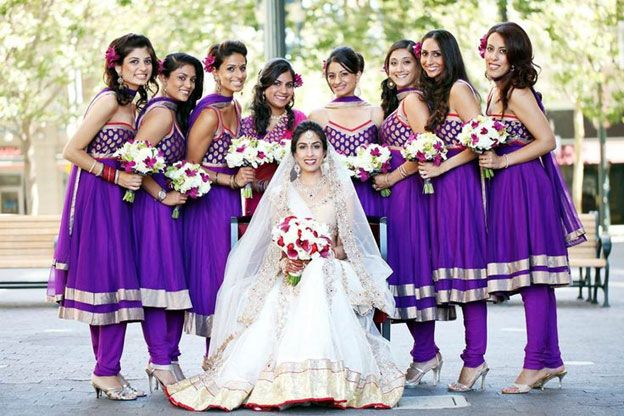 Indian Wedding Bridesmaid Outfits Ideas Indian Fashion
