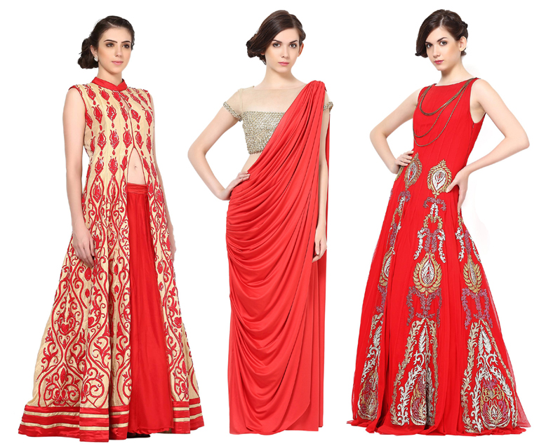 6 Best Indian Engagement Dresses for Brides | Indian Fashion Mantra