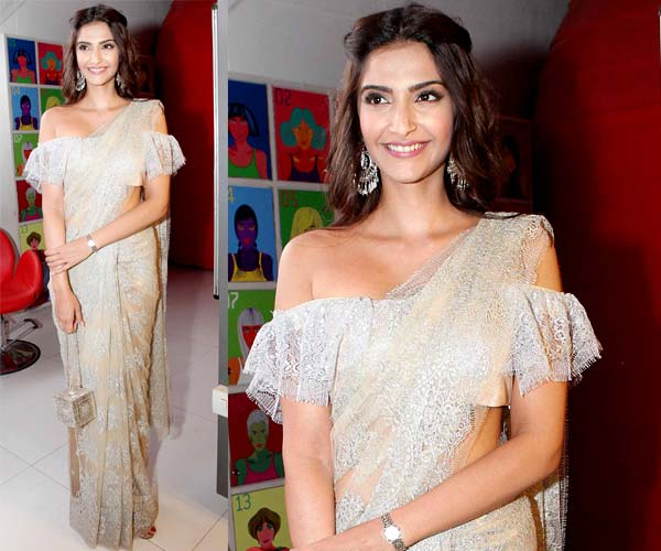 5 Saree Styling Tips To Steal From Sonam Kapoor