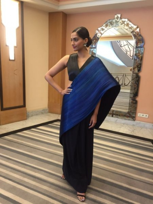 5 Saree Styling Tips to Steal from Sonam Kapoor | Indian ...