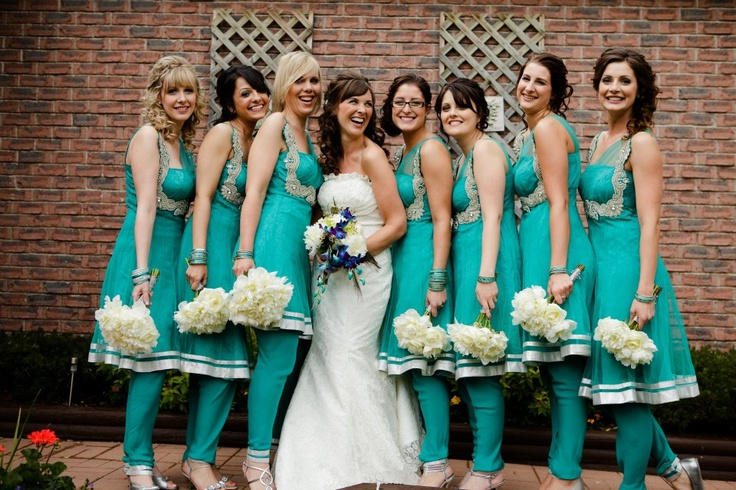 10 Indian Bridesmaid Dresses Ideas