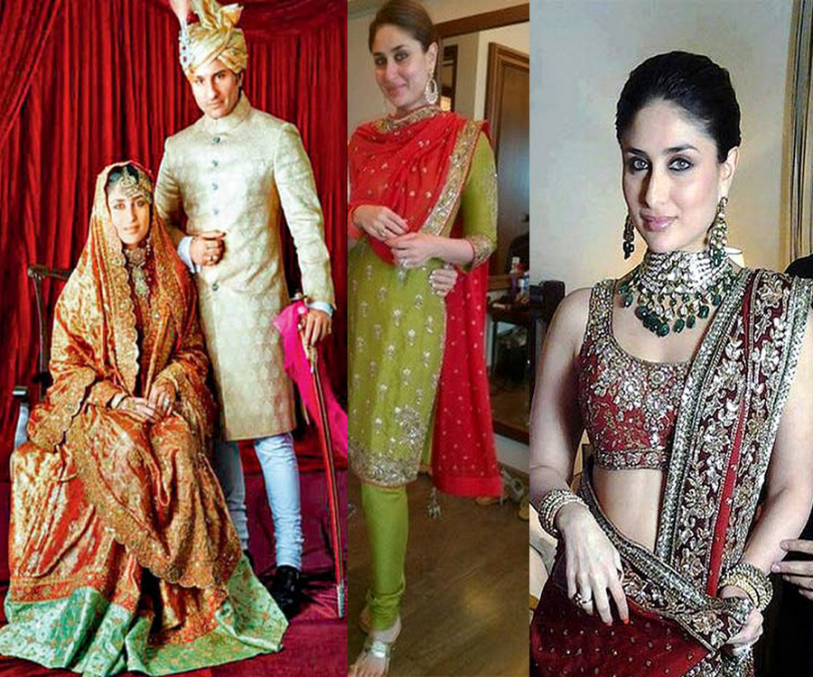 Bollywood Brides Who Did Not Wear Red On Their Weddings