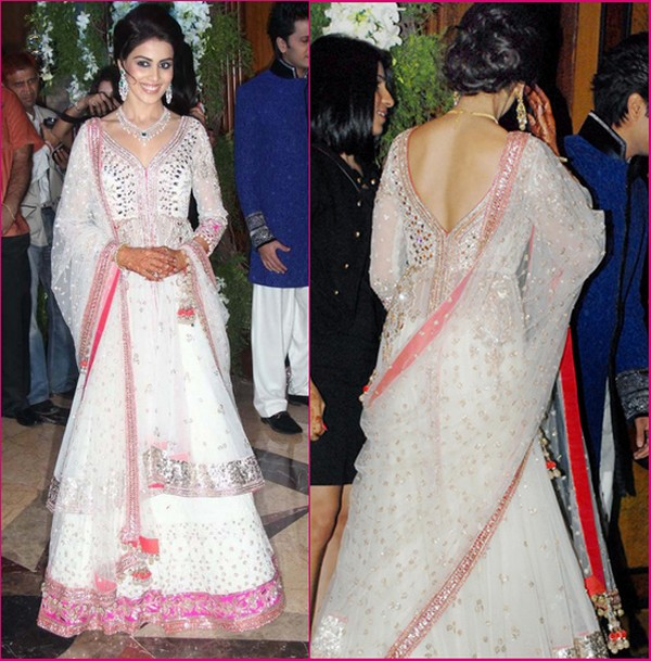 Bollywood Actresses Outfits at their Sangeet Ceremony | Indian ...