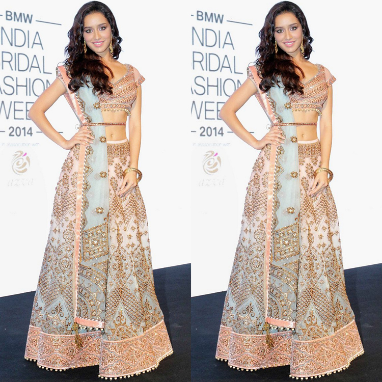 Bridal Lehenga In Pastel Shades Is The New Fashion Indian Fashion