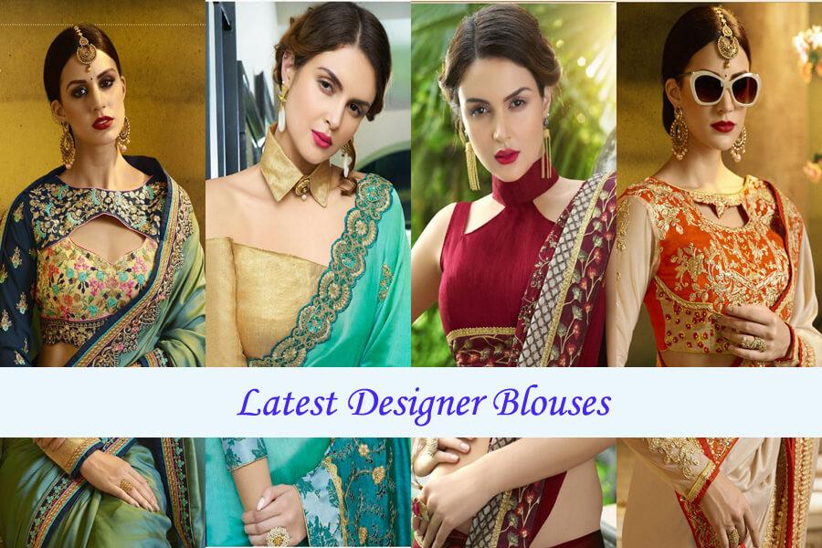 Latest Designer Blouses Indian Fashion Mantra