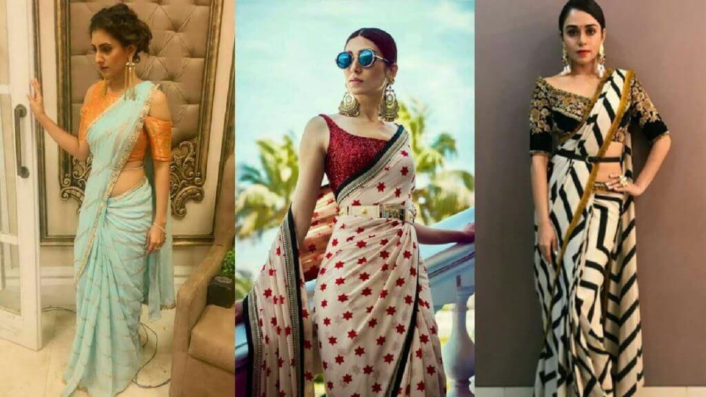 Different Saree Drape Styles Indian Fashion Mantra