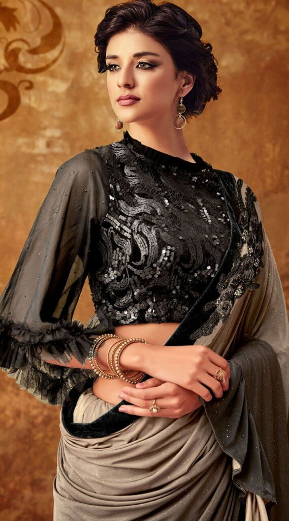 High Neck Blouse Designs For Sarees Indian Fashion Mantra