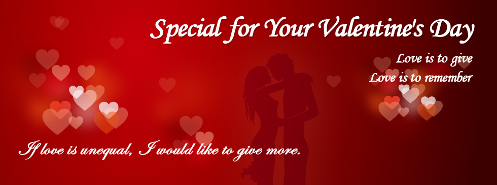 Valentine Day Banner Indian Fashion Mantra
