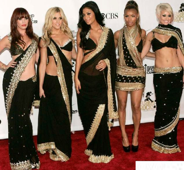 hollywood-actresses-in-sarees – Indian Fashion Mantra