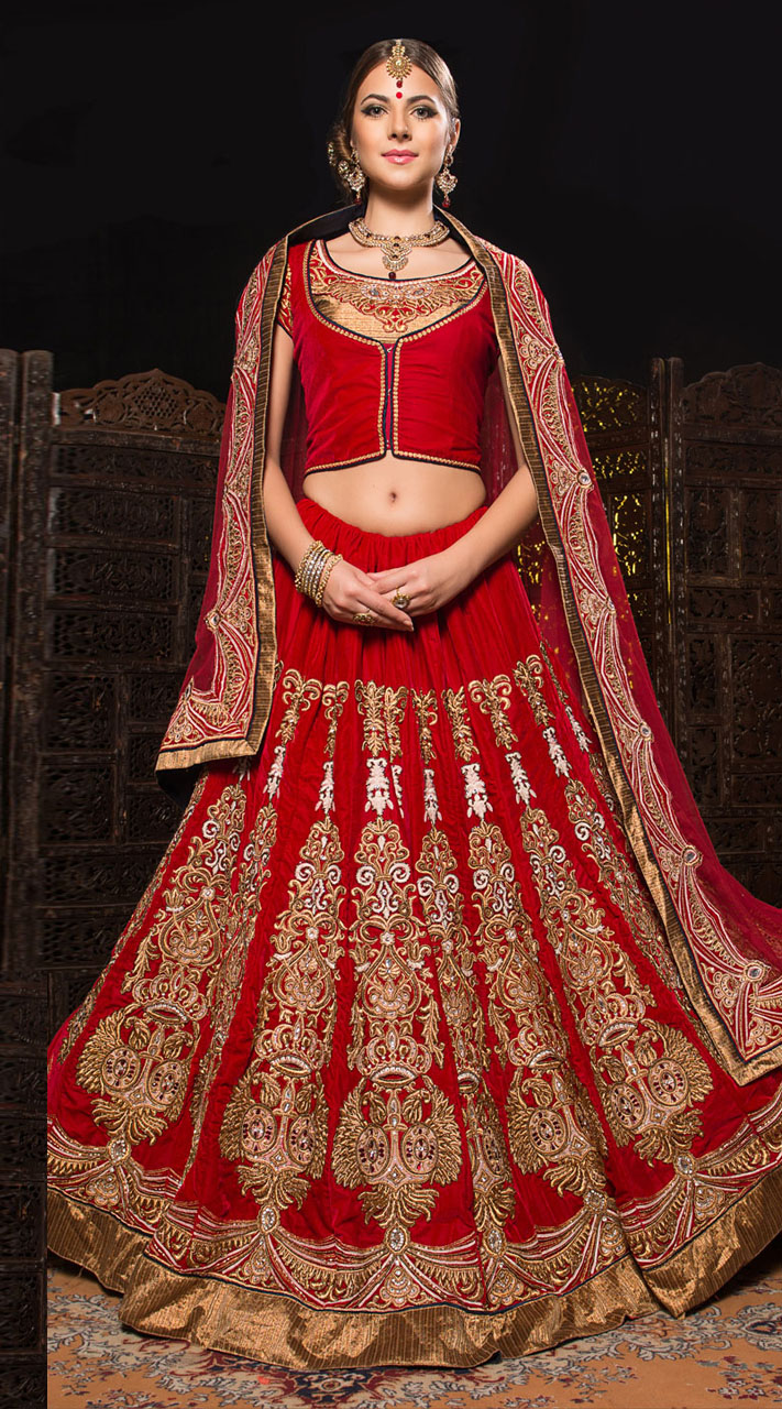 Bridal dupatta online shopping