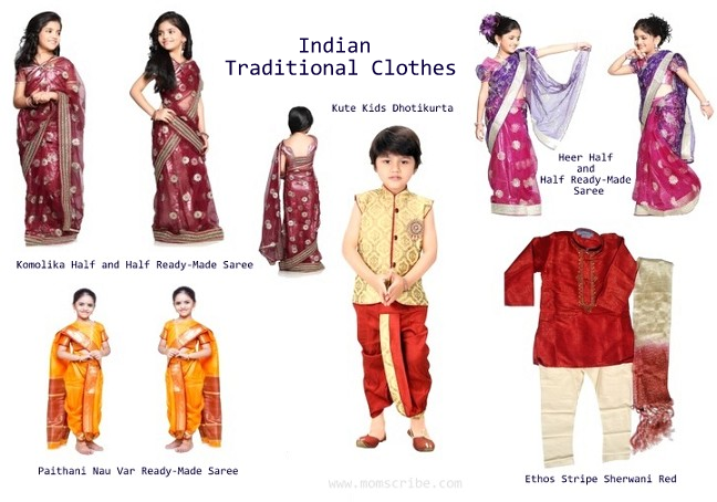 indian traditional clothes for kids – Indian Fashion Mantra