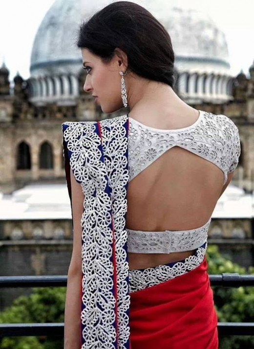 Image result for 7 Modern Saree Blouse Designs Women should have in Wardrobe