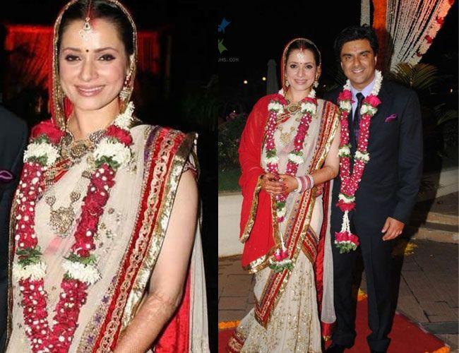 neelam-kothari-wedding-outfit – Indian Fashion Mantra  neelam-kothari-...